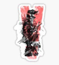 MGS5 (Red) Sticker