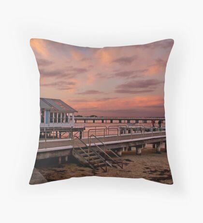 Sunset, Barwon Heads Throw Pillow