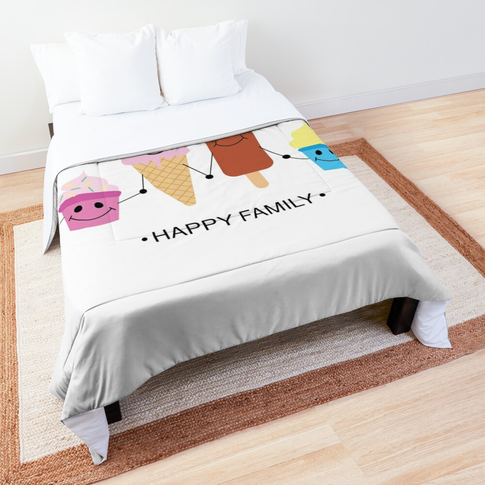 Happy family Comforter