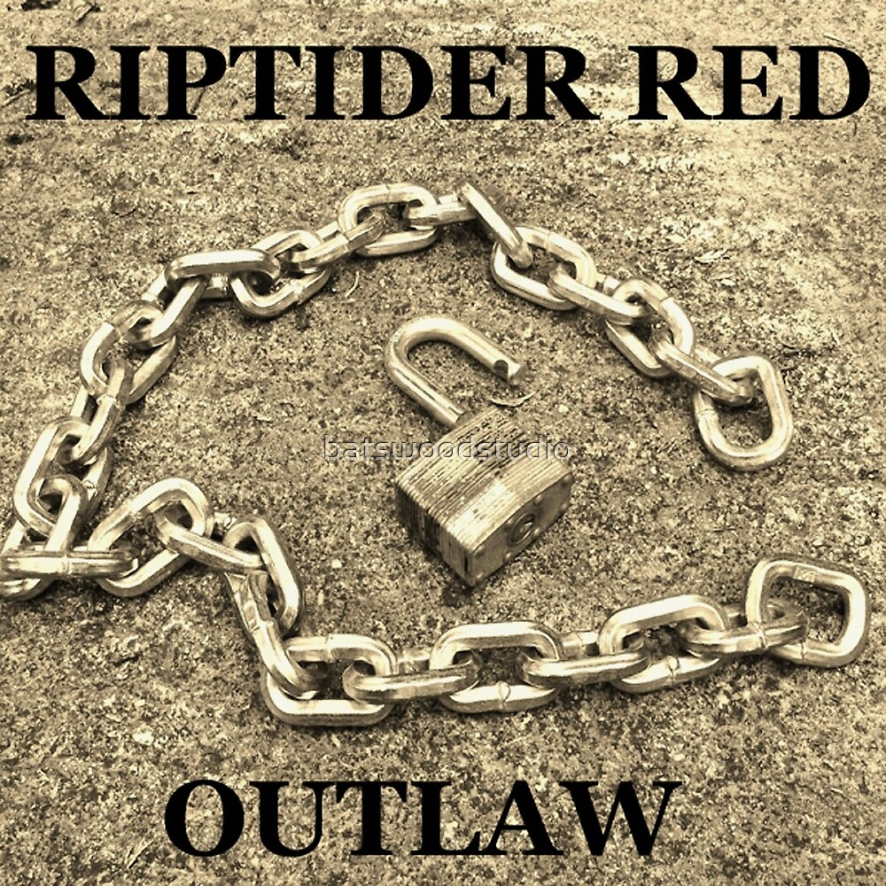 Outlaw Cover Design by Riptider Red. by batswoodstudio