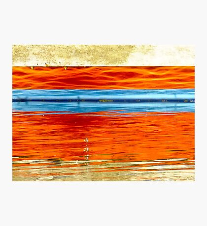 Boat Reflections - Emu Point, Albany, Western Australia Photographic Print