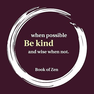 Inspirational Kindness Quote by bookofzen