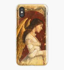 Pre-Raphaelite Fresco Angel iPhone Case/Skin