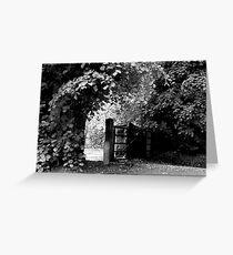 Countryside Walkway Greeting Card