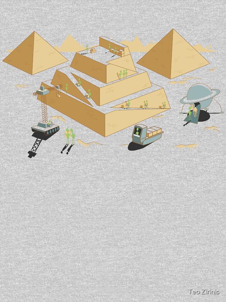 Pyramids by theodorezirinis
