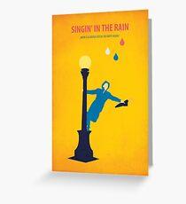 Singin 'in the Rain Greeting Card