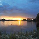 Lake at Sunset by Hilda Rytteke