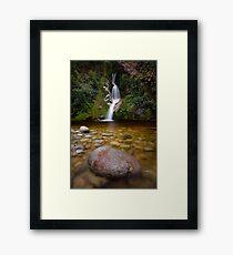 Dorothy Falls - Lake Kaniere Framed Print