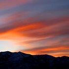 Heber Valley Sunset by JoAnn GLENNIE