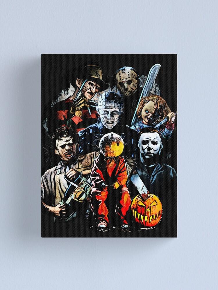 Alternate view of Horror Canvas Print