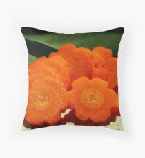 Carrots Throw Pillow