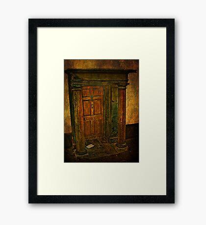 Pillar To Post Framed Print