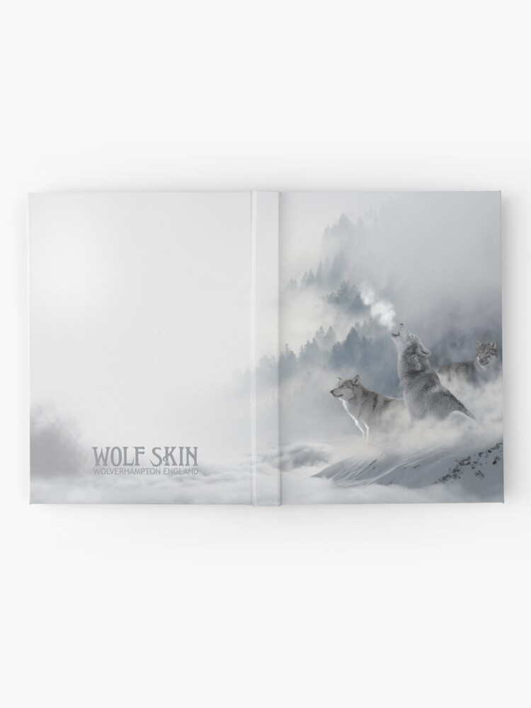 Alternate view of Snowscape Wolves Hardcover Journal Hardcover Journal