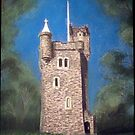 Helen's Tower, Bangor, Northern Ireland (the original one!) by Hilary Robinson