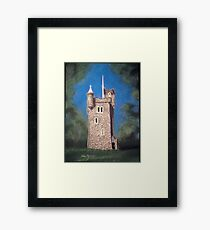 Helen's Tower, Bangor, Northern Ireland (the original one!) Framed Print