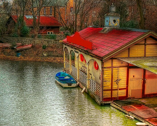 Old Canal House by Don Alexander Lumsden (Echo7)
