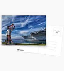 San Diego Sailor Postcards
