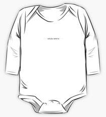 Plain White Solid T-Shirt Dress One Piece - Long Sleeve