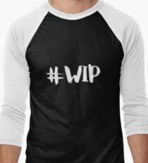#WIP (white on black) T-Shirt