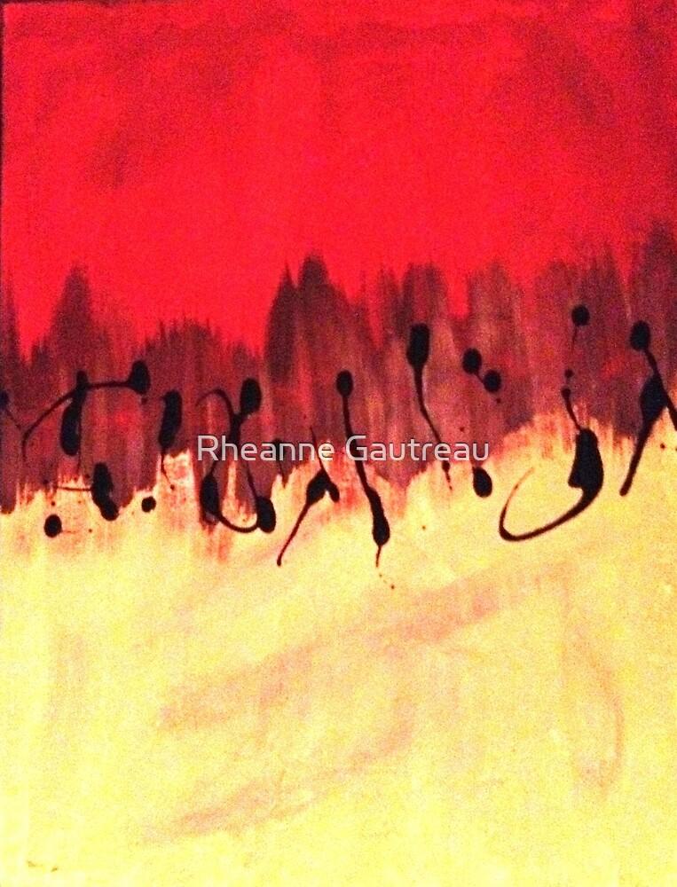 half n half blood by Rheanne Gautreau