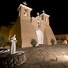 Heaven Above: San Francisco de Asis Mission Church (Front View) by Mitchell Tillison