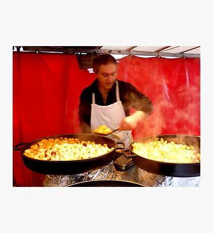 Potatoes cook Photographic Print