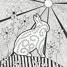 Garden Bunny by Kelly Robinson