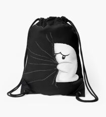 HIDDEN BOO ! Drawstring Bag