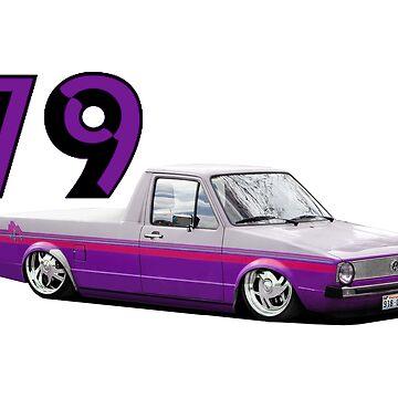 79 Mini Truckin' by OctagonalPaul