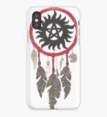 Supernatural Anti-Possession Dreams iPhone Case