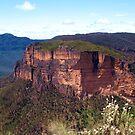 Grose Valley Cliffs by Michael John