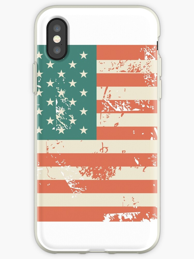 Grungy US flag by ychty