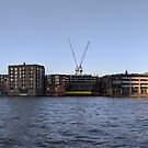 London from the Thames - panorama by opheliaautumn
