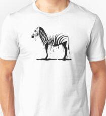 Zebra melting Unisex T-Shirt