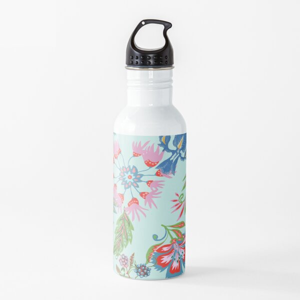 Floral with brambles Water Bottle