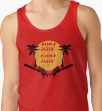 Suns Out Guns Out - H1Z1 - Cracked T-Shirt