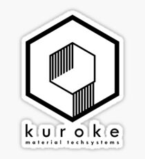 Kuroke Material Techsystems Sticker