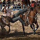 Picton Steer Wrestler by Ian English