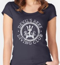 Devil's Reef Diving Club Women's Fitted Scoop T-Shirt