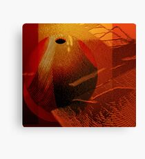 Abstract ceramic Canvas Print