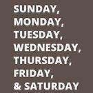 Days of the Week by joehx