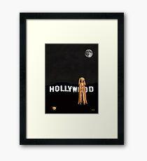 The Scream World Tour Hollywood Framed Print