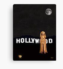 The Scream World Tour Hollywood Canvas Print
