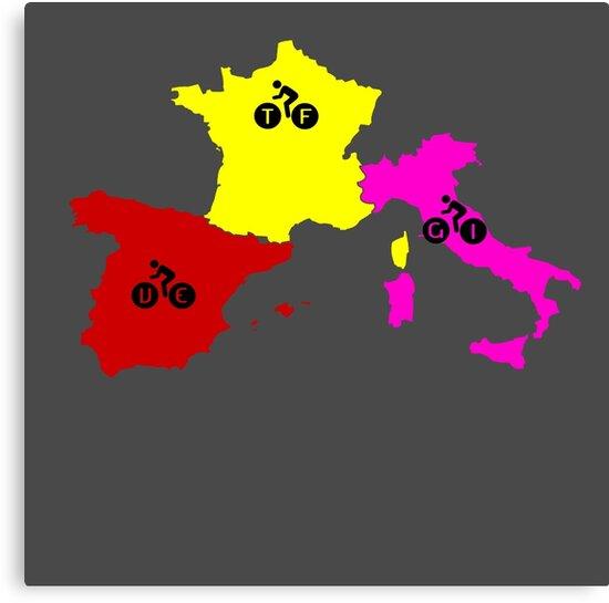 Giro - Tour - Vuelta by ndaqb