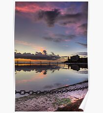 Cronulla at dawn - HDR Poster