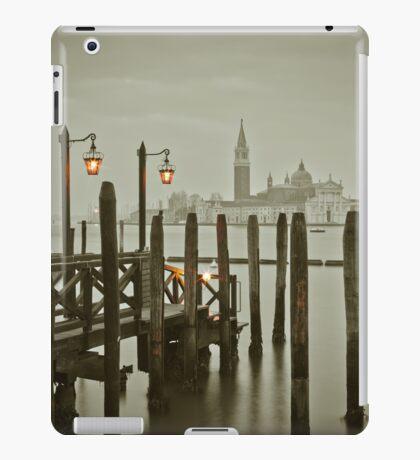 Misty Morning in Venice iPad Case/Skin