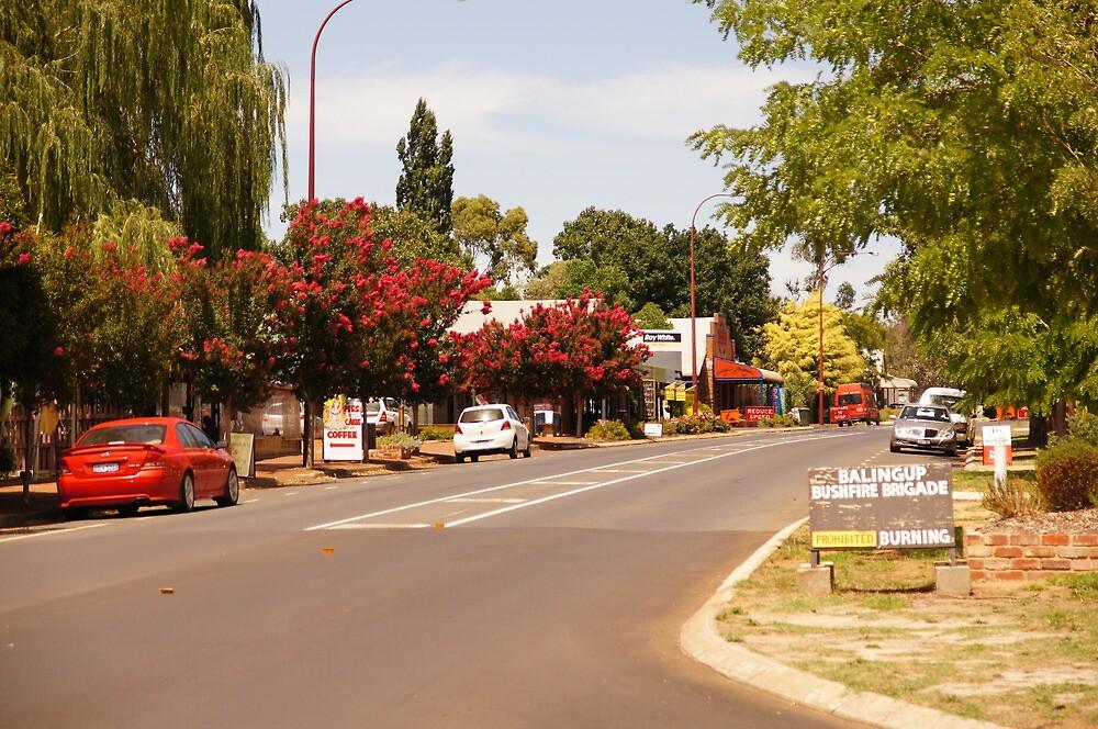 Balingup - an attractive little West Aussie country town by georgieboy98