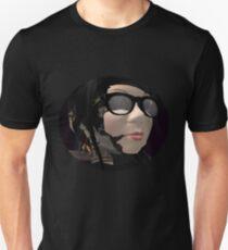 Neo Baroque portrait of a robot librarian  T-Shirt