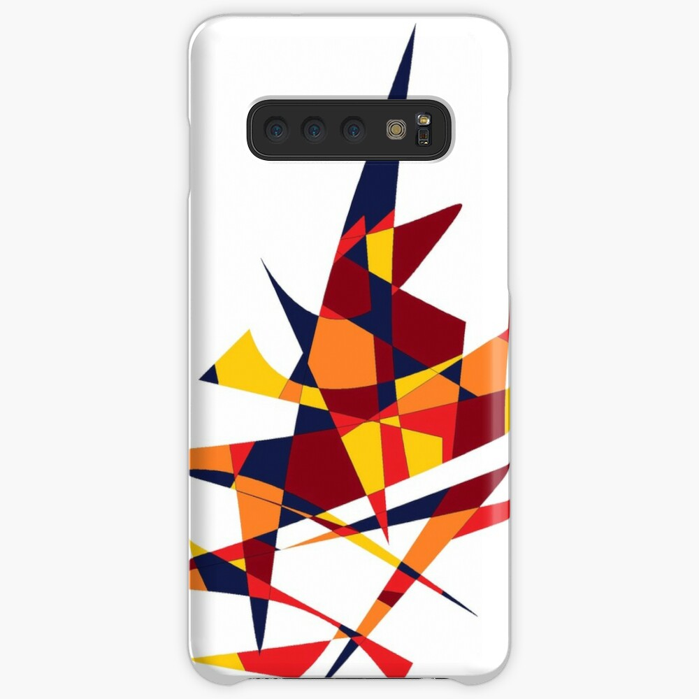 Wizard's Hat, Abstract (Designed by Just Stories) Case & Skin for Samsung Galaxy
