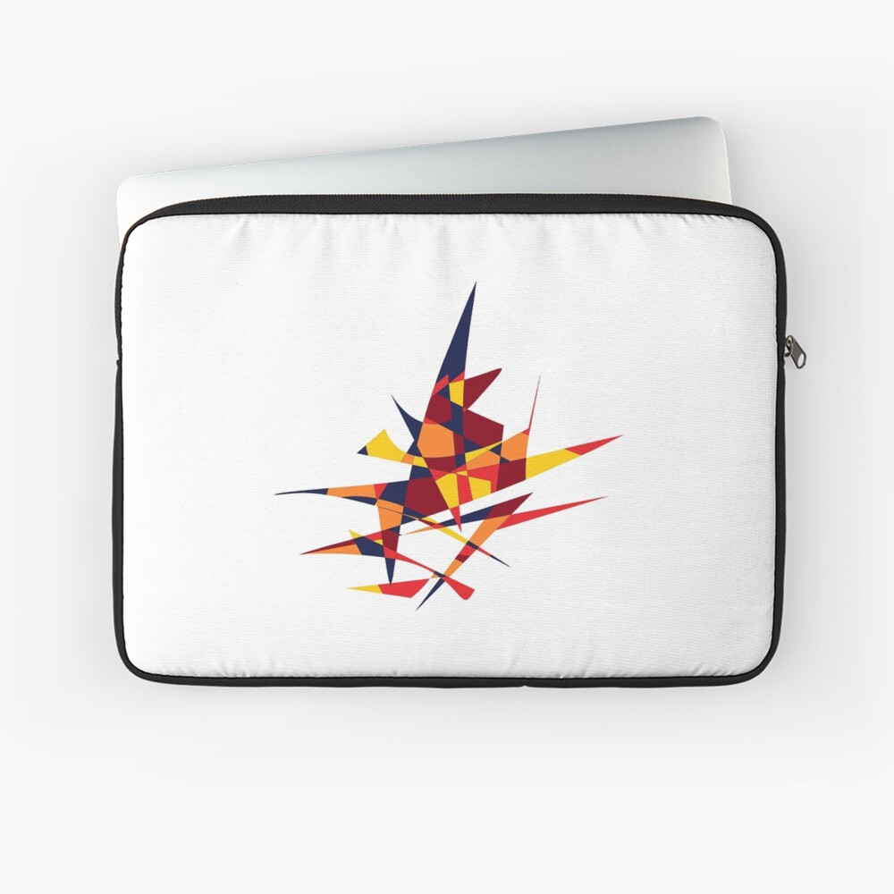 Wizard's Hat, Abstract (Designed by Just Stories) Laptop Sleeve